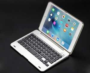 Image 5 - חדש ABS עבור iPad מיני 4 מקרה עם מקלדת כיסוי A1538 A1550 USB Bluetooth אלחוטי עבור iPad mini 4 מקלדת כיסוי 7.9
