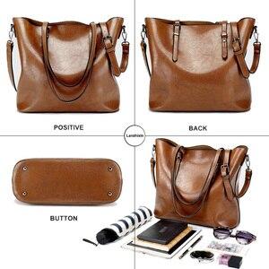 Image 4 - Shoulder Bags for Women 2020 Famous Brand Luxury Handbag Women Bags Designer Shoulder Crossbody Bag Soft Leather Handbag Vintage