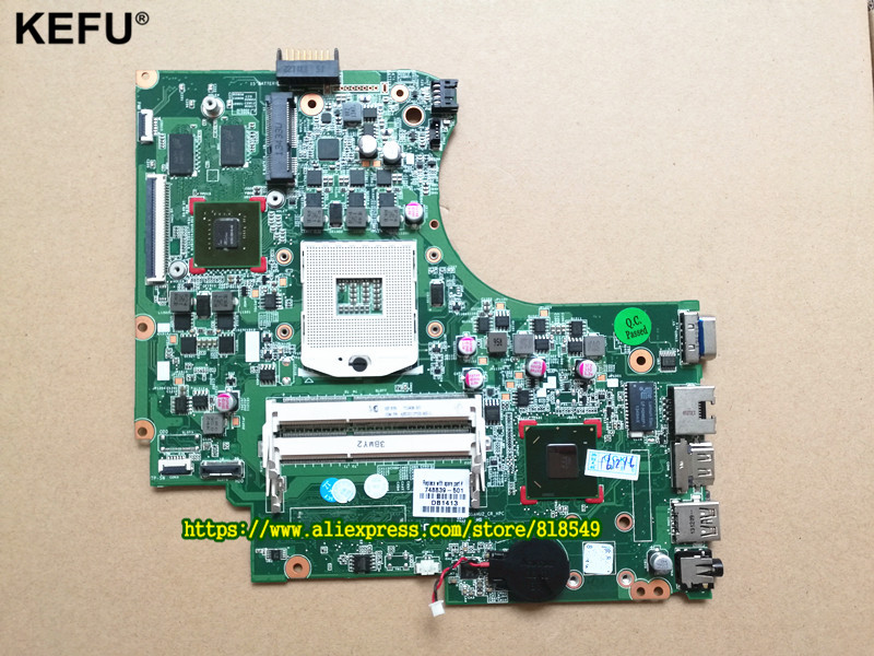 Original 748839-501 748839-001 Laptop Motherboard fit for HP 15-D 250 G2 Notebook Mainboard 100% fully tested 747139 501 for 15 d 250 g2 laptop motherboard 747139 001 n2810 mainboard
