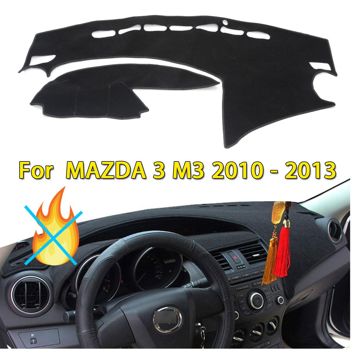Inner Dashboard Dash Mat DashMat Sun Cover Pad For MAZDA 3 M3 2010-2013