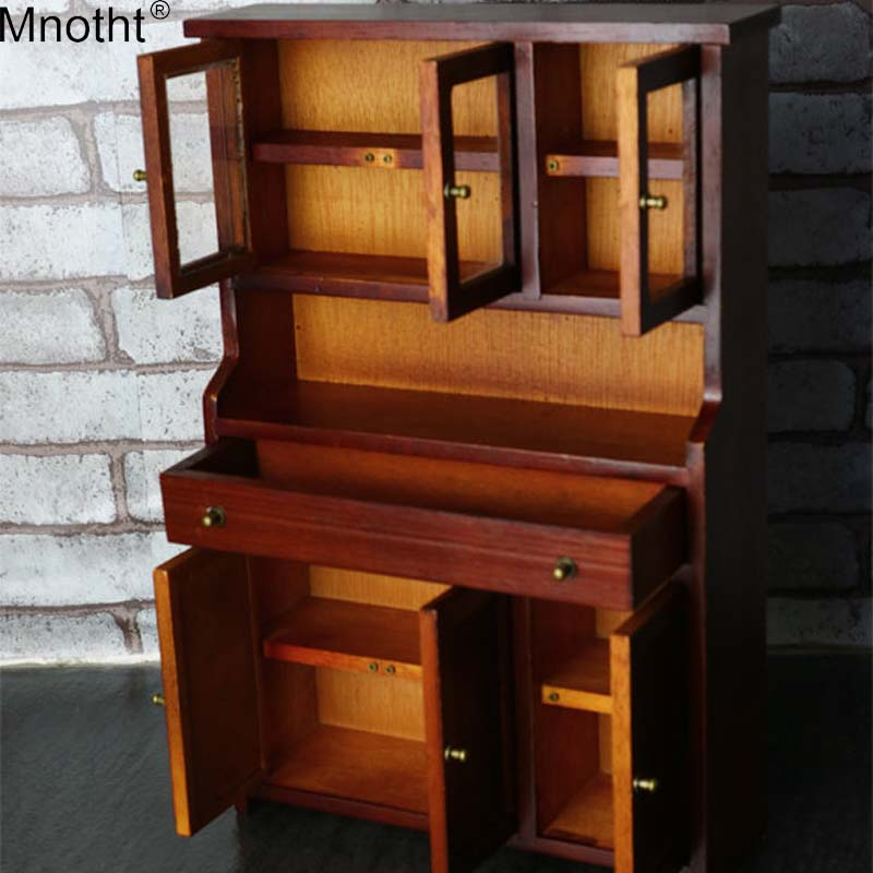 Mnotht 1/6 Scene Component MCC-005 Wooden Cabinet Retro Bookcase Model Toy for12in Soldier Action Figure Collection mb mnotht 1 6 action figure panzer third