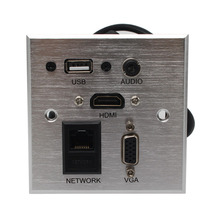 Tabletop socket  Audio,HDMI, USB, Network,VGA Information outlet box /desktop socket /Multifunction Desktop Socket