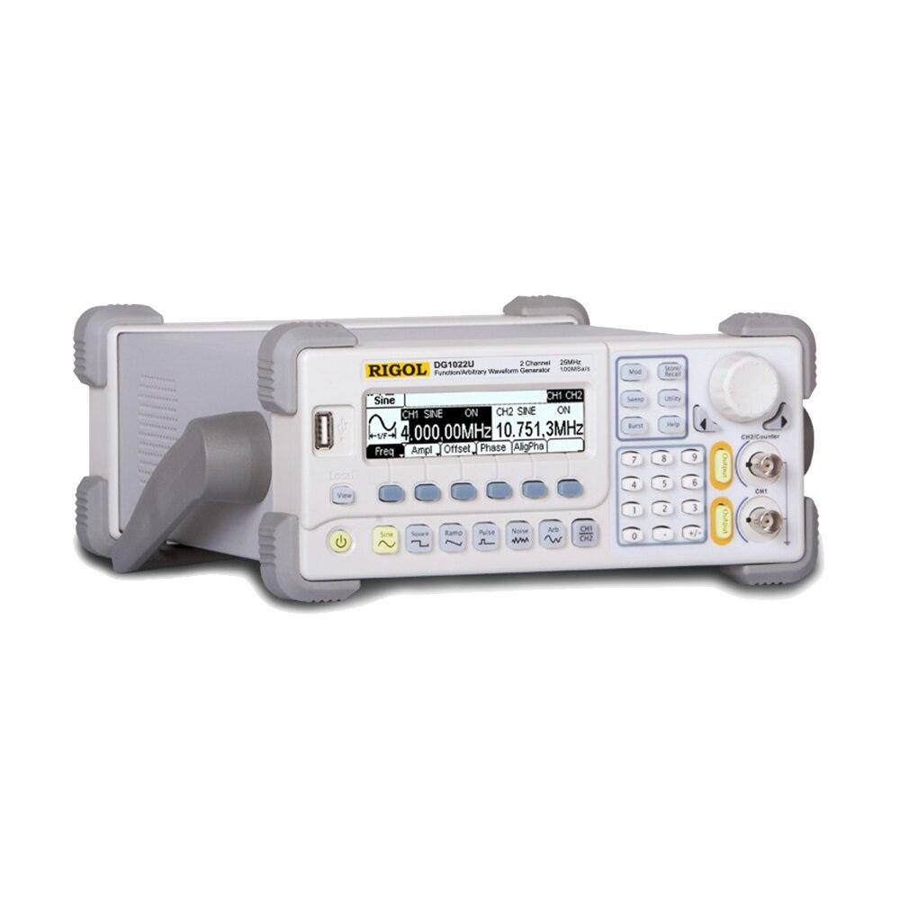 RIGOL DG1022U Aggiornato da DG1022 Generatore di Segnale A 2 Canali 25 MHz Funzione Waveform Generator Signal