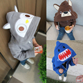 2016 New Hot kids cute cartoon monster Hoodies kids boys spring autumn thin sweater Long Sleeve Outwear baby clothes