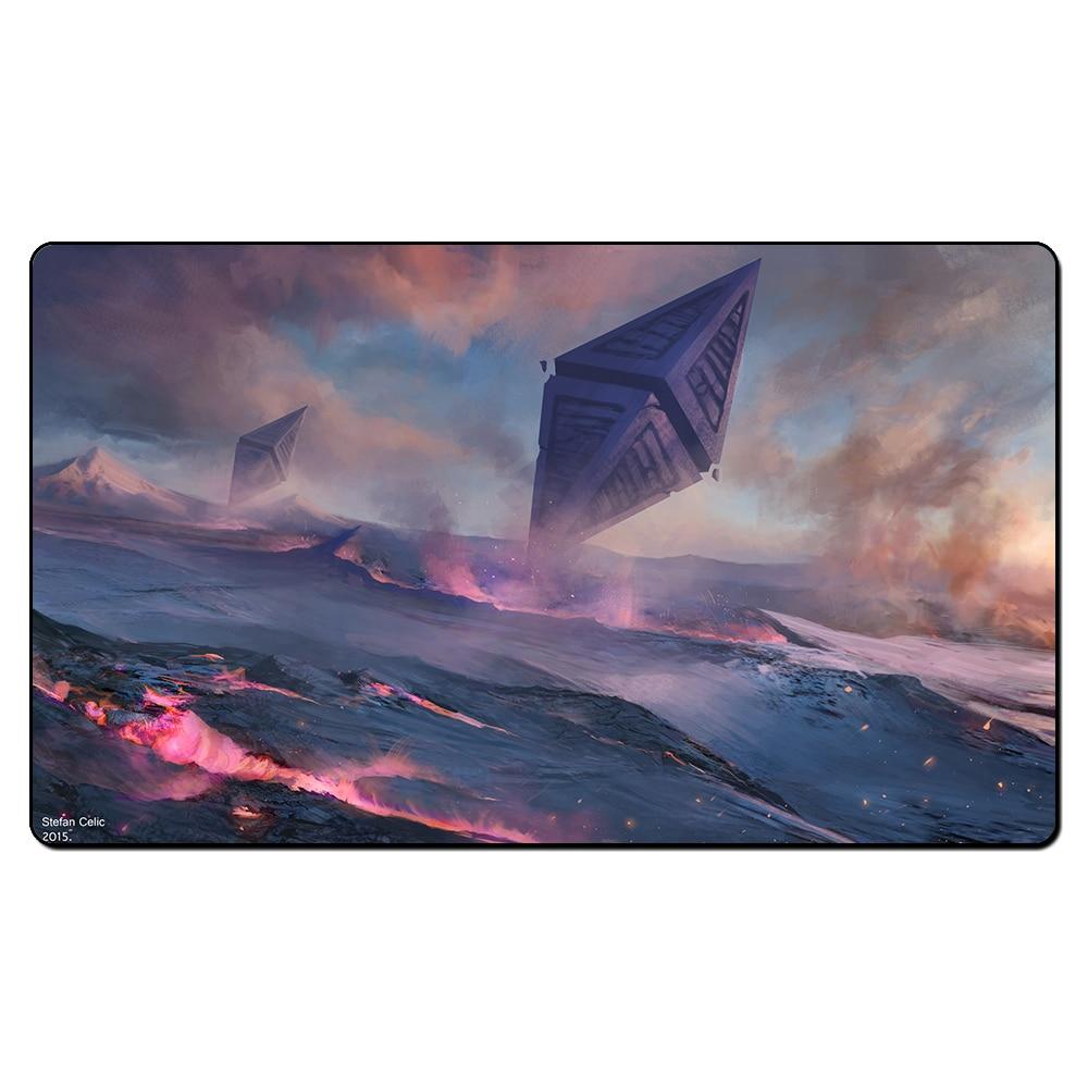(Zendikar Art) Board Games Playmats, Magical Card Play Mat,The Games Game Pad Custom Design Playmat with Free Gift Bag