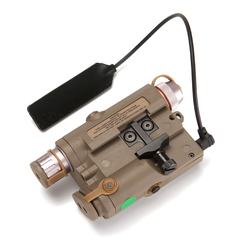 de bateria laser ponto verde com branco