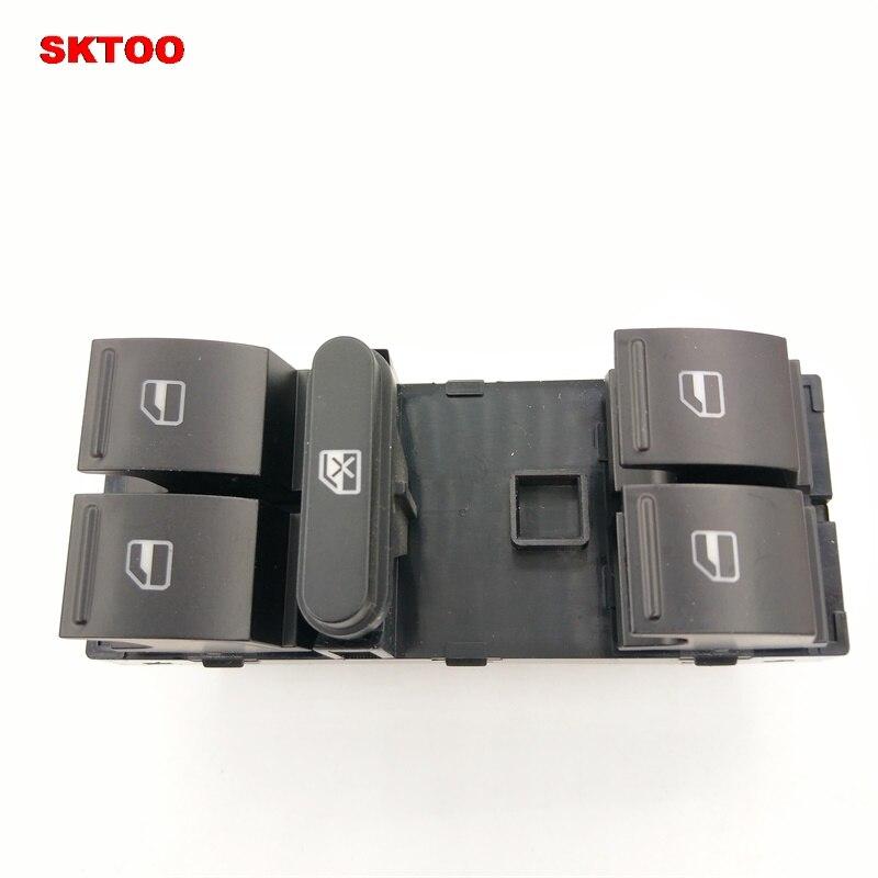 SKTOO Car window switch, car glass lifter switch For VW Golf 5 Golf 6 Jetta MK5 Mk6 Tiguan Touran Passat B6 B7 OEM 1K4959857B