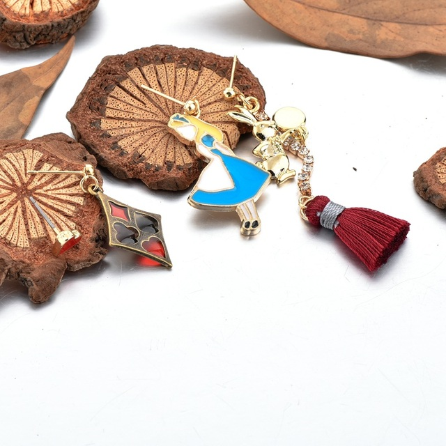 chicvie модные эмалированные ювелирные изделия в мультяшном фотография