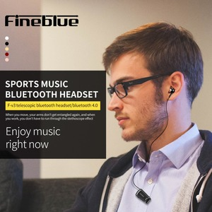 Image 5 - Fineblue V3 מיני אלחוטי נהג סטריאו Bluetooth 4.0 אוזניות נשלף קליפ ריצה אוזניות עבור Smartphone Auriculares