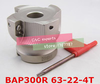 Free Shopping BAP-300R 63-22-4T 90 Degree Right Angle Shoulder Face Mill Head CNC Milling Cutter  For APMT1135