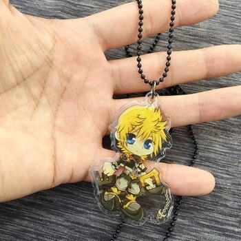Кулон и брелок героев игры Kingdom Hearts 1