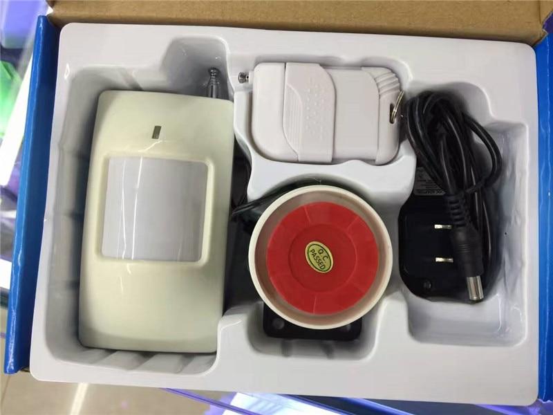 Wireless Remote Control PIR Detector Burglar Alarm SystemWireless Remote Control PIR Detector Burglar Alarm System