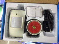 Wireless Remote Control PIR Detector Burglar Alarm System
