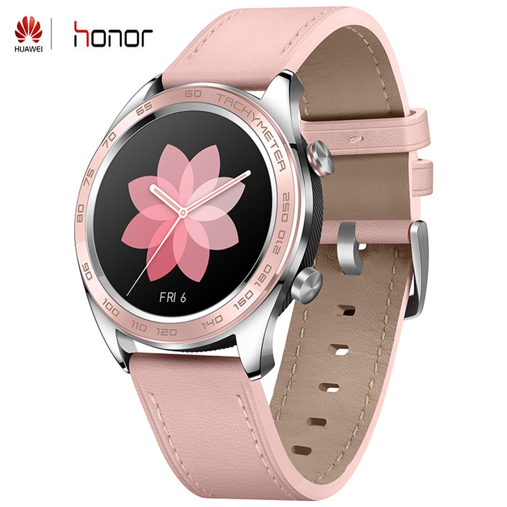 Huawei Honor Dream Smart Watch GPS 1.2inch AMOLED Color Screen 390*390 PPI 326 Bluetooth 4.2 Heart Rate Sleep Monitor Smartwatch