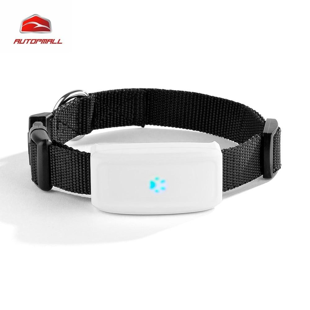 2017 мини Собака GPS трекер Кошка Pet GPS локатор tk911 Водонепроницаемый 400 часов в режиме ожидания собака Finder Бесплатная веб-IOS Android приложение для отслеживания