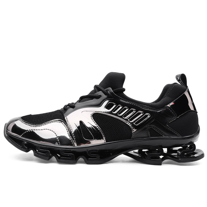 Men and women sneakers cushioning breathable running shoes blade bottom walk exercise shopping indoor fitness special shoes