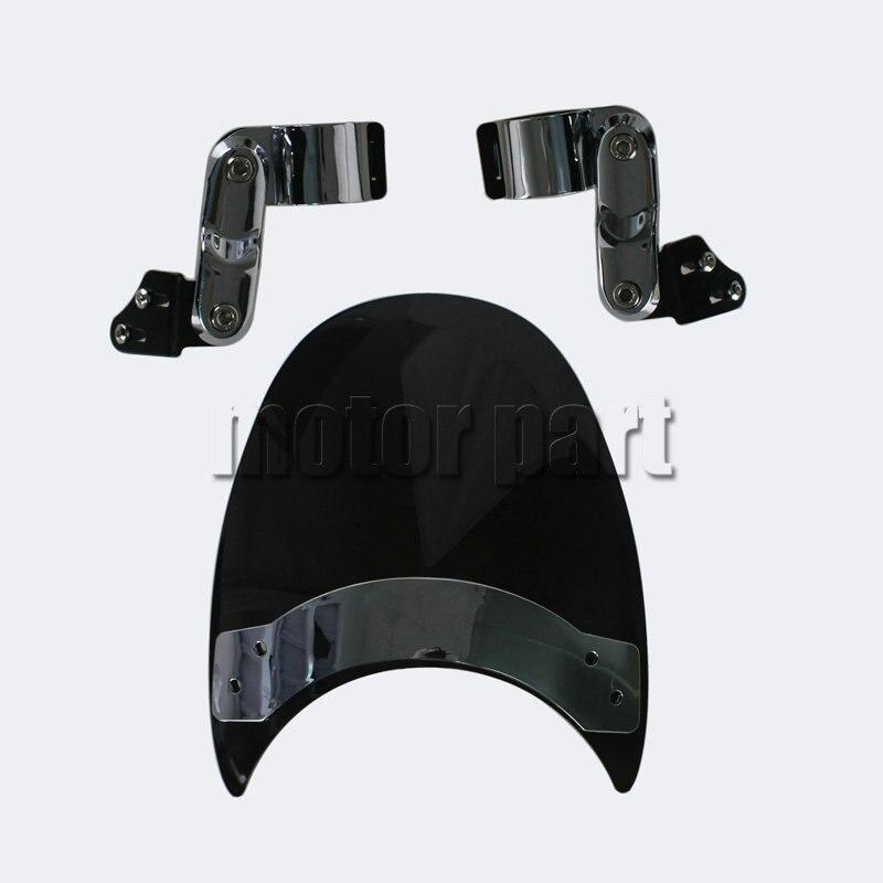 9 ветровое стекло для Кавасаки Вулкан 800 1500Л 88 900 VN900C заказ VN800A крейсеров и стандарты вилки мотоцикла лобовое стекло черный