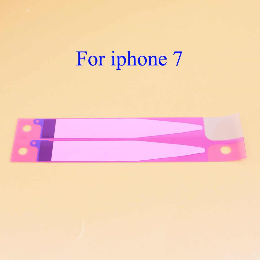 YuXi Batterij Sticker Voor iPhone X 5 s 5c SE 6 6 s 7 8 8 plus 8X Batterij lijm Tape Strip Tab Vervanging Deel