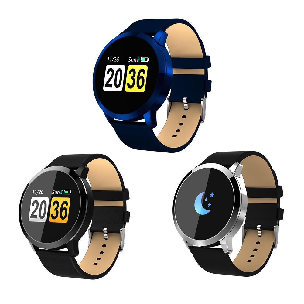 Oukitel W1 Bluetooth Smart Watch Heart Rate Blood Pressure Blood Oxygen Monitoring Reminder Information For Android iOS ночная сорочка 2 штуки quelle arizona 464118