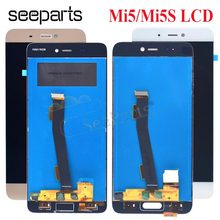 "5.15"" Xiaomi Mi5 Mi5S Mi 5S LCD Display With Touch Screen Digitizer Assembly Replacement Parts Xiaomi Mi5S LCD Display(China)"