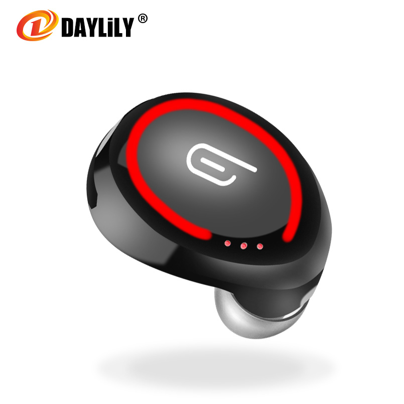 Daylily bluetooth headphones fone de ouvido bluetooth auriculares Sport bluetooth headset music wireless phone Earphone mp3 pc headset bluetooth fones de ouvido bluetooth wireless earbuds in ear fone de ouvido bluetooth mini bluetooth headset qcy50