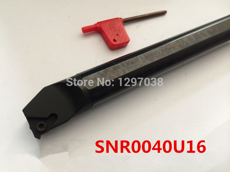 Thread Turning Tool SNR0040U16 350mm Length Internal Threading Inserts Holder Threaded Holder For Lathe Machine free shipping of 1pc hard steel alloy made un 1 15 16 8 american standard die threading tool lathe model engineer thread maker