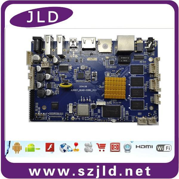 US $115 0 |High quality quad core electronic PCB circuit board multilayer  LED PCB board for digital signage -in Multilayer PCB from Electronic