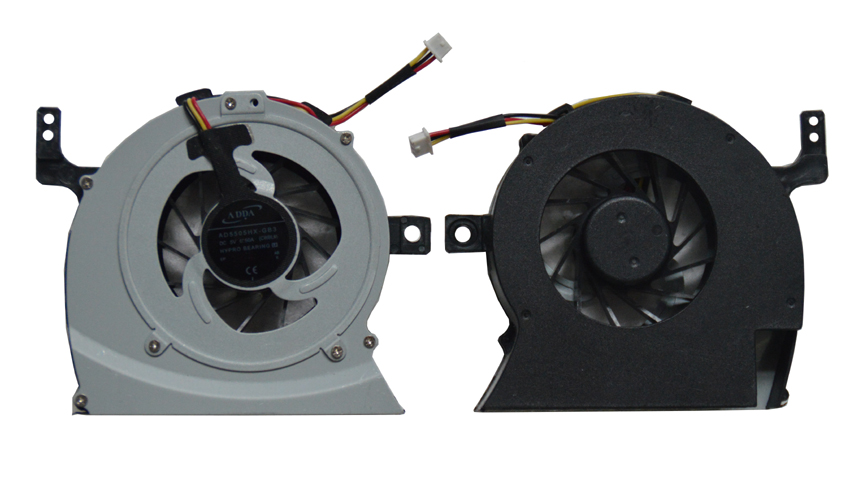 SSEA Wholesale Brand New CPU cooler Fan for Toshiba Satellite L600 L640 L645 C640 laptop Cooling FAN P/N: AB7805HX-GB3