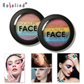 Rosalind New Baked Mars Prism Rainbow Highlighter Makeup Palette Cosmetic Blusher Shimmer Powder Contour Eyeshadow By Focallure
