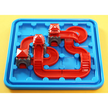 Assemble and build game logic thinking training desktop puzzles Burning brain childrens educational toys