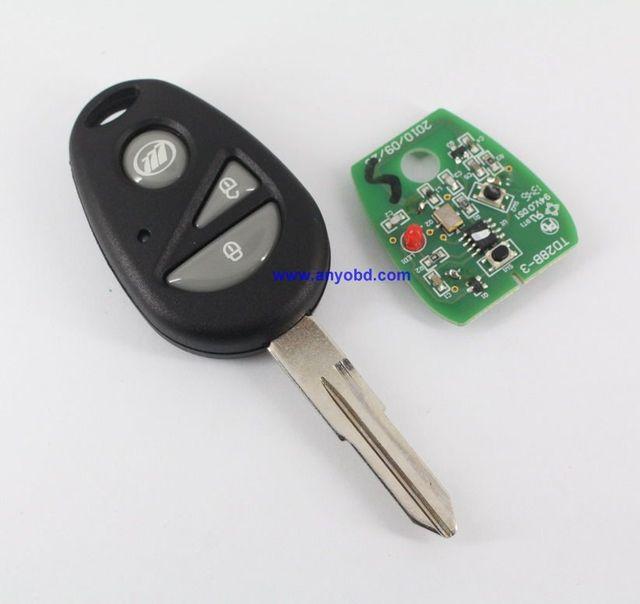 Для Lifan 320, для Lifan 330 Автомобильный Дистанционный ключ 315 мГц