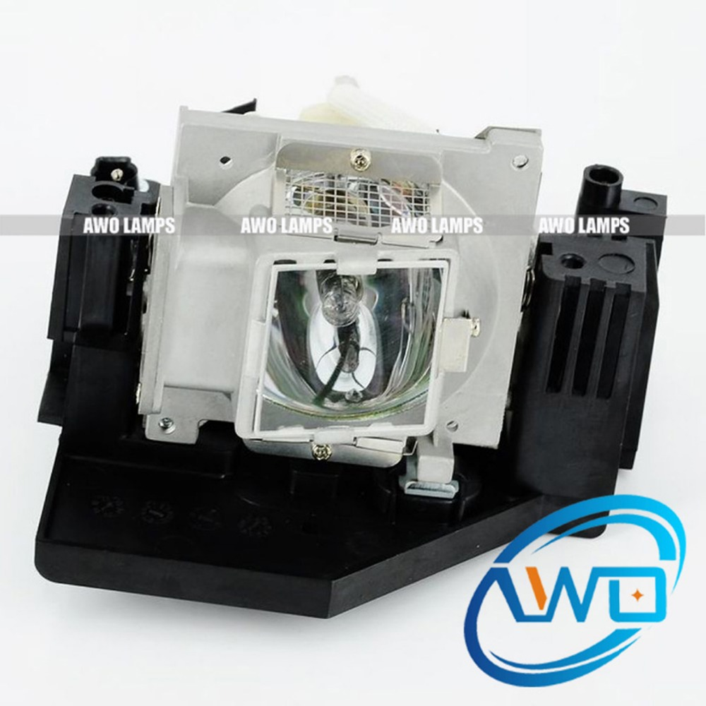 AWO Compatible Projector Lamp BL-FP260A Replacement with Housing for OPTOMA EP772 TX775 original replacement lamp with housing optoma bl fs200c projector lamp