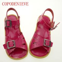 COPODENIEVE Genuine Leather Kids Sandals Children Shoes Cutout Boys Sandals Girls Sandals Children Leather Shoes Genuine