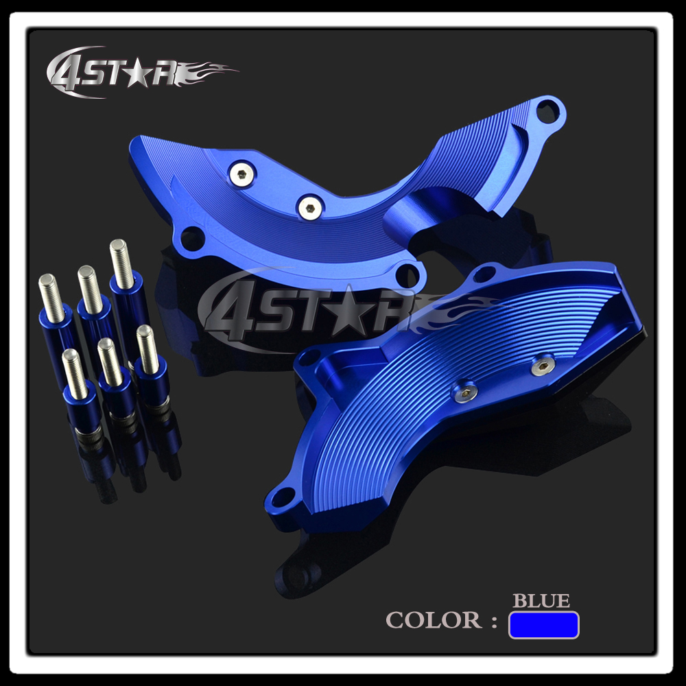 3 Color CNC Motorcycle Engine Case Frame Guard Stator Clutch Cover Crash Pad Silder Falling Protector For YZF R3 YZF-R3 14 15 16