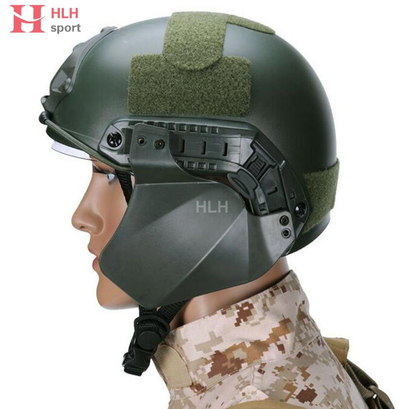 FAST Side Soft Rubber Cover for Airsoft Military Helmet Rail Helmet AccessoPRUW