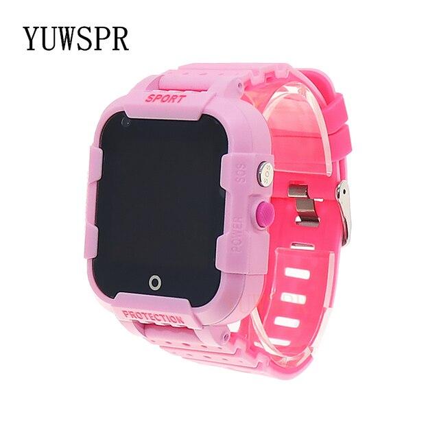 Kids GPS tracker 4G smart watch Video Call quad-core processor WiFi Hotspot GPS LBS WIFI Location Tracking child clock DF39 1PCS 3