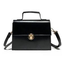 3549a8d8605d 2019 новая Корейская весенне-Летняя женская сумка на плечо из лакированной  искусственной кожи с металлическим