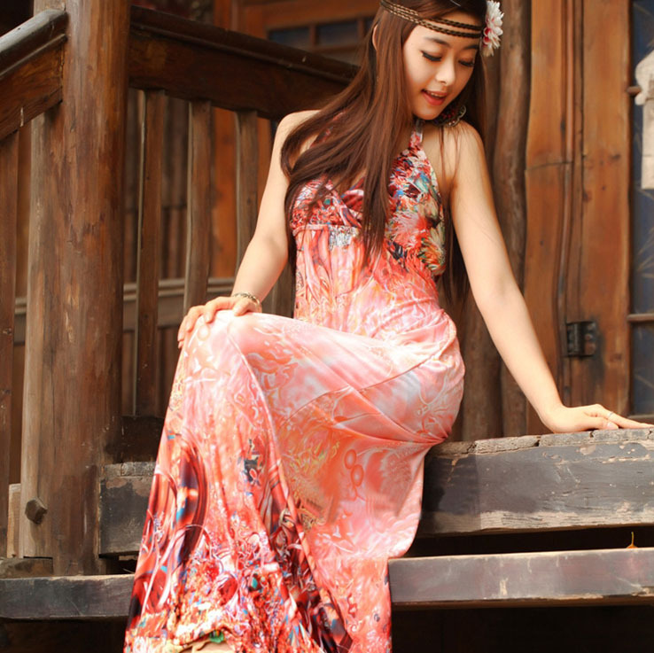 Popular Hawaiian Dresses-Buy Cheap Hawaiian Dresses lots from ...