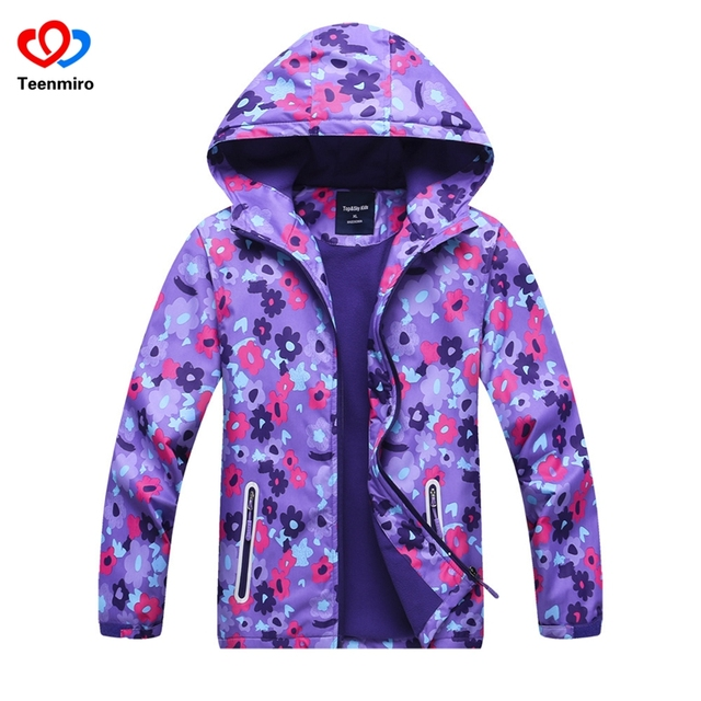 8974f0b09 Hooded Girls spring jacket Elsa Coat Costume Anna Snow Queen Clothes ...