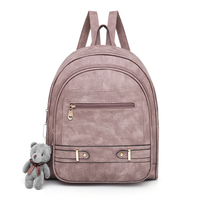 Vintage Women Backpack High Quality PU Leather School Backpacks for Teenage Girls Female Casual Large Capacity Shoulder Bags