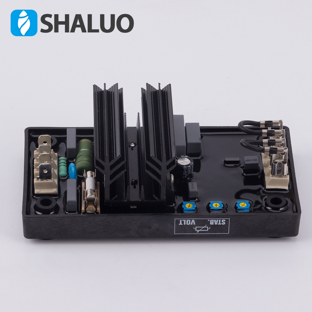 Automatic Voltage Regulators Stabilizers 220V 380V AC Single phase Three phase Diesel Brushless Generator Alternator AVR