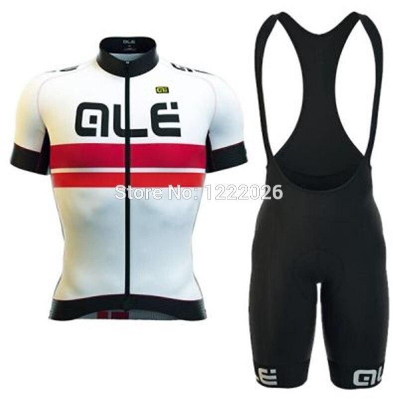 Prix pour Nouveau Vélo Jersey Vélo ALE Bicicleta Veste Vélo Sports de Plein Air Court T-shirt Ropa Ciclismo Vêtements À Séchage Rapide Pantalon Bib