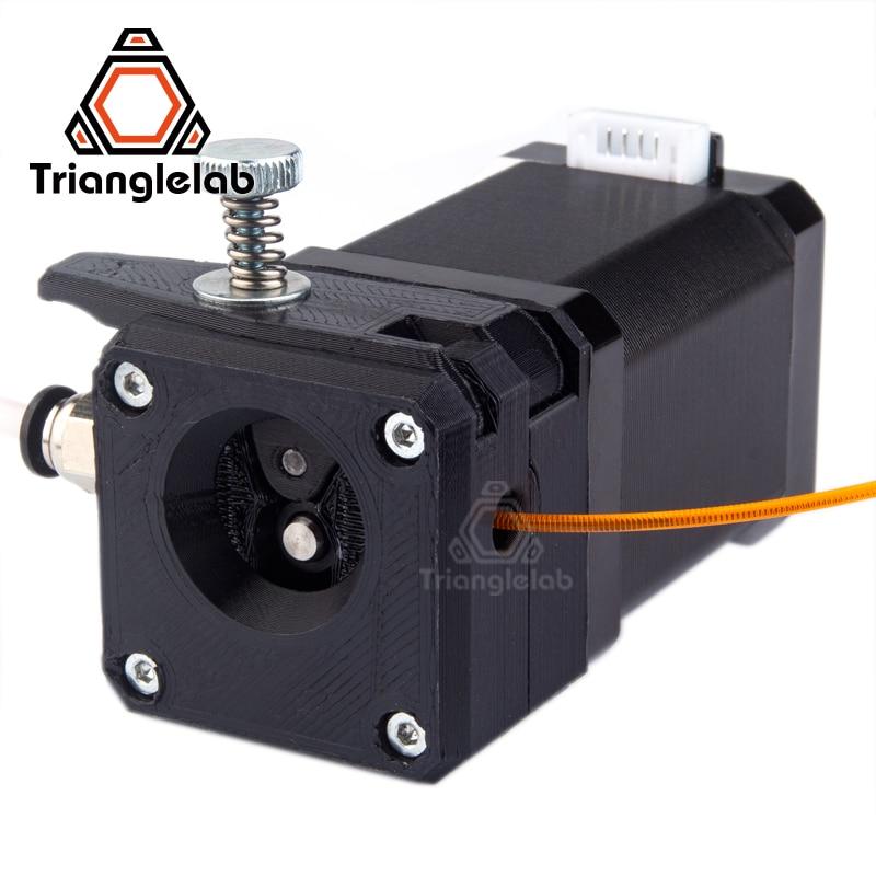 trianglelab Drivegear kit dual drive gear extruder kit Cloned Btech upgrade for Prusa i3 3d printer gear Mini Bowden Extruder