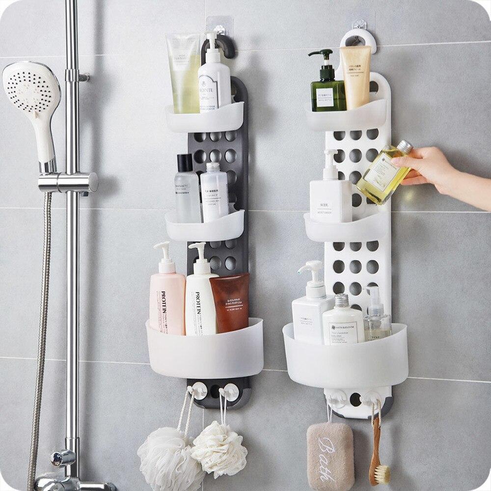 A1 1 шт. душевая полка для ванной комнаты настенный стеллаж для мытья ванной комнаты Душ для хранения стоков wx9031055 - 2