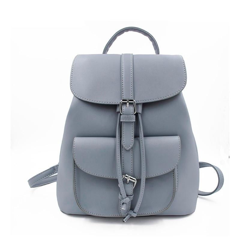 Leftside Women's Drawstring Pu Leather Backpack School Bags Teenage Girls Backpacks For Women High Quality Ladies Bagpack #5