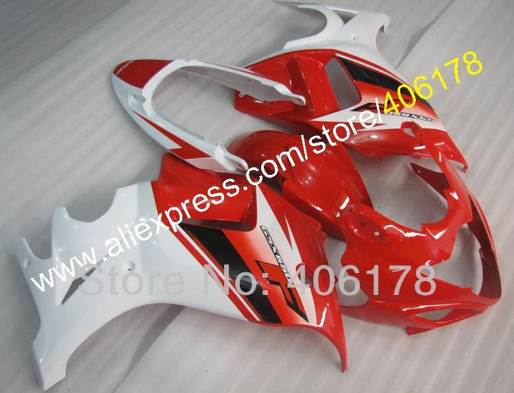 Горячие продаж,Оптовая продажа системы GSX 650F мотоцикл Обтекатели для Suzuki системы GSX 650F 2008 2009 2010 2011 2012 2013 красный белый Мото Обтекатели