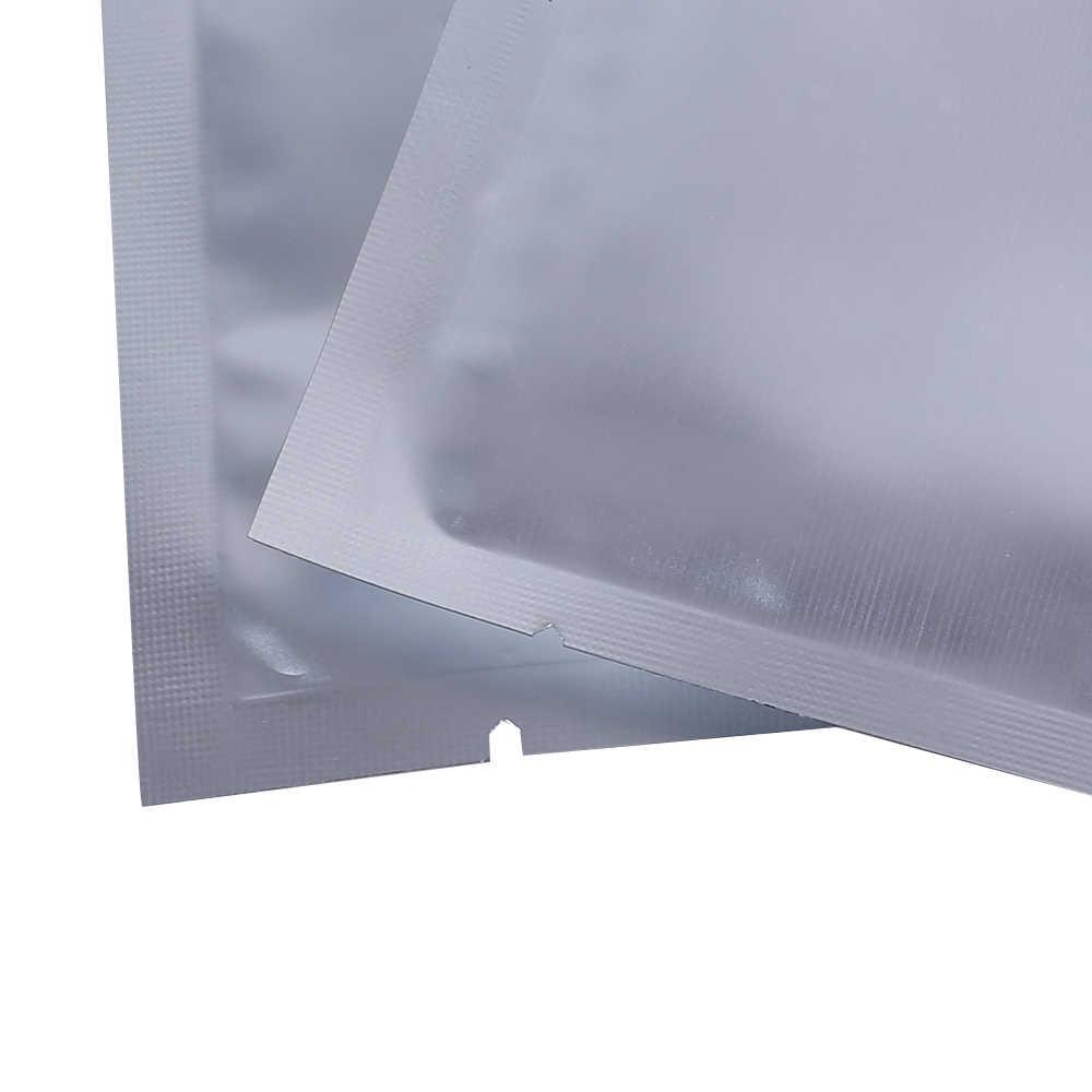 """Высокое качество 10 x15cm (4x6 """") зазубринами нагреваемый уплотненный посылка сумка с внутренним покрытием из алюминиевой фольги mylar Пластик плоские мешки Еда сумка для хранения"""