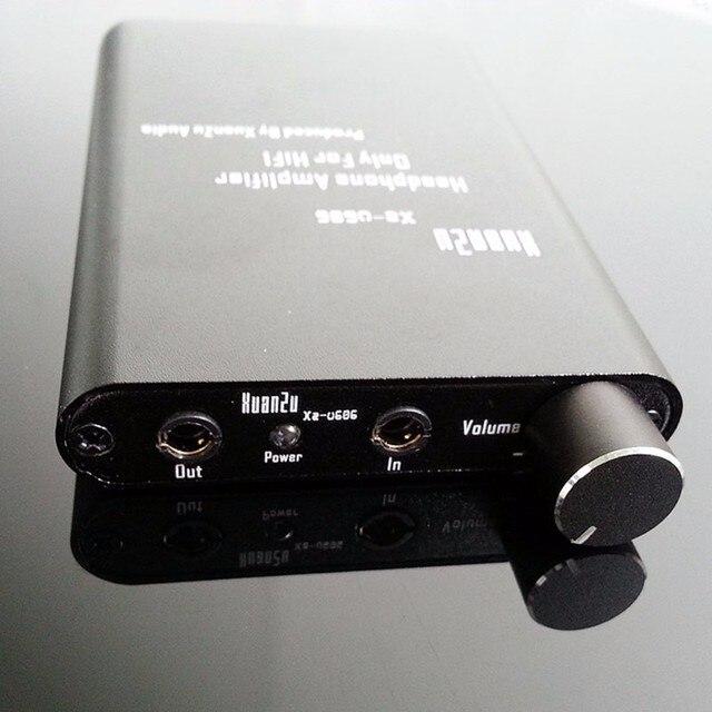 XZ-Аудио U606 Hifi Мини Портативный Усилитель Для Наушников Усилитель Для Наушников DIY Макс 600 МВт Ручка Мощность DC3.7V 2400 мАч удалить Усилители