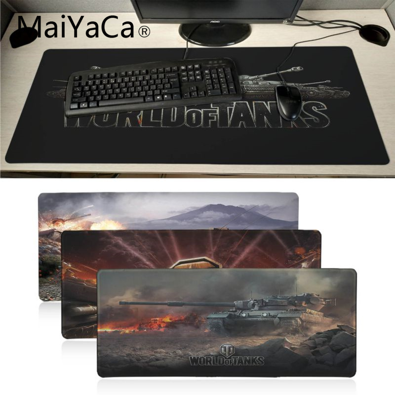 MaiYaCa  World Of Tank Mouse Pad Gamer Play Mats BIG SIZE Rubber Game Mouse Pad Lord Of The Rings Mouse Pad