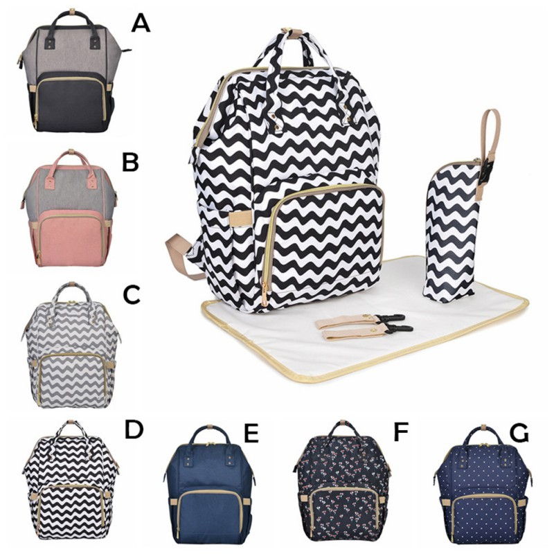 Four Piece Set Shoulder Mummy Bag Multi Function Capacity Maternal Child Package Pregnant Women Expectant Package Maternal